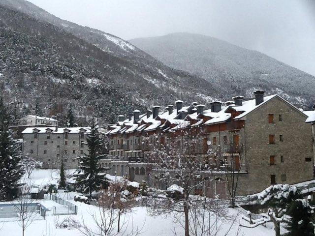 Nevada en el Pirineo