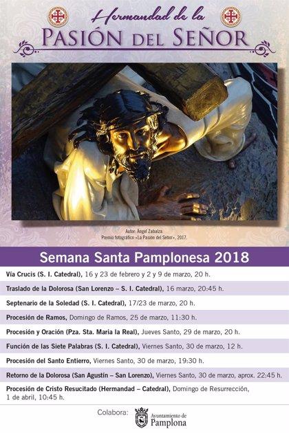 La Catedral de Pamplona acoge este sábado la celebración de la Pascua y la Procesión del Encuentro