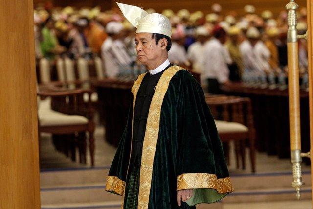 Foto de archivo de Win Myint.