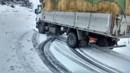 La meteorología sigue dificultando la circulación por algunas carreteras gallegas