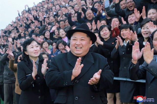 El líder norcoreano, Kim Jong Un