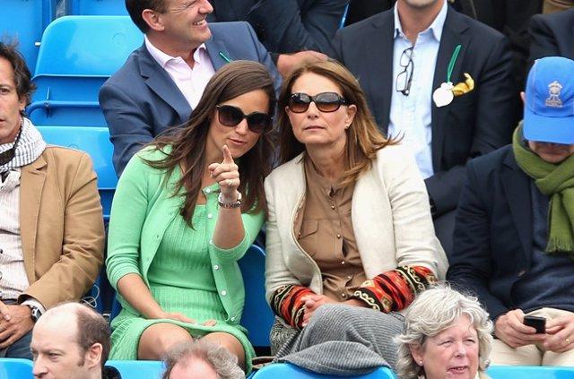 Pippa Middleton Y Su Madre Carole Middleton