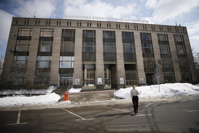 Edificio que alberga el British Council en Moscú