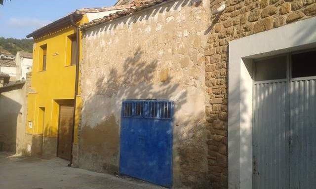 La casa que va a ser subastada en Morentin