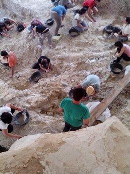 Excavaciones en Orce, primer día