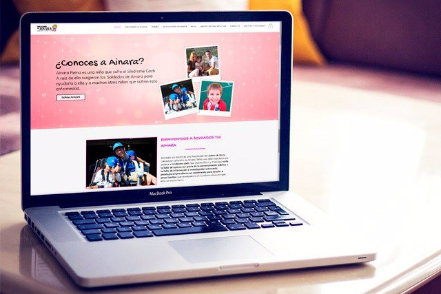 La nueva web de 'Soldados de Ainara'