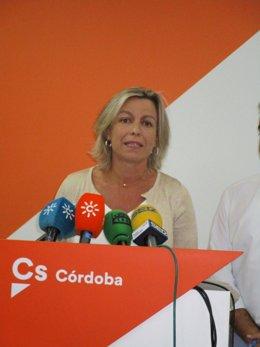 La parlamentaria andaluza de Cs Isabel Albás