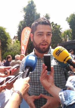 Imagen de archivo del concejal de Economía de Oviedo, Rubén Rosón
