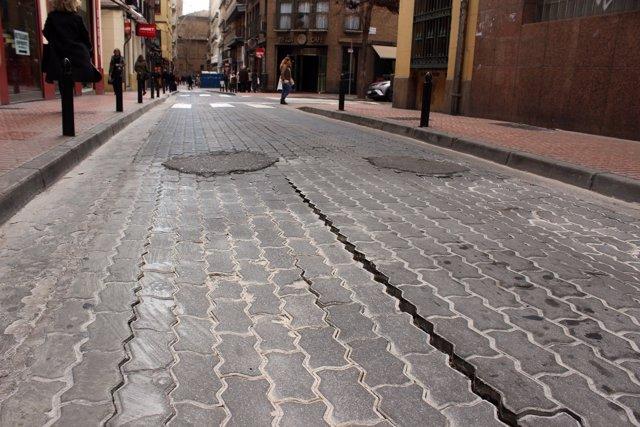 Calle San Miguel de Zaragoza.