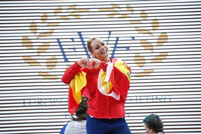 Lydia Valentín campeona Europa halterofilia