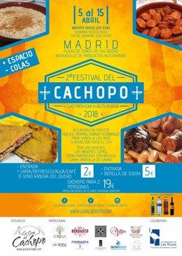 Cártel del Festival del Cachopo.