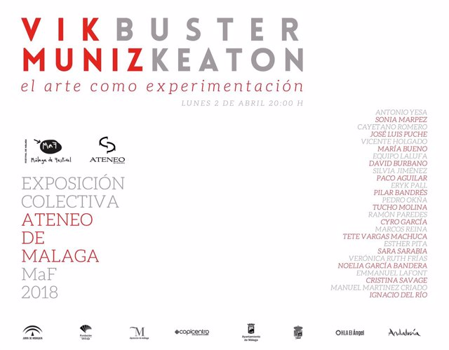 Cartel exposición Ateneo de Málaga MaF