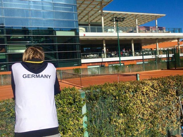 Alemania equipo alemán Copa Davis Sporting Club de Tenis Valencia