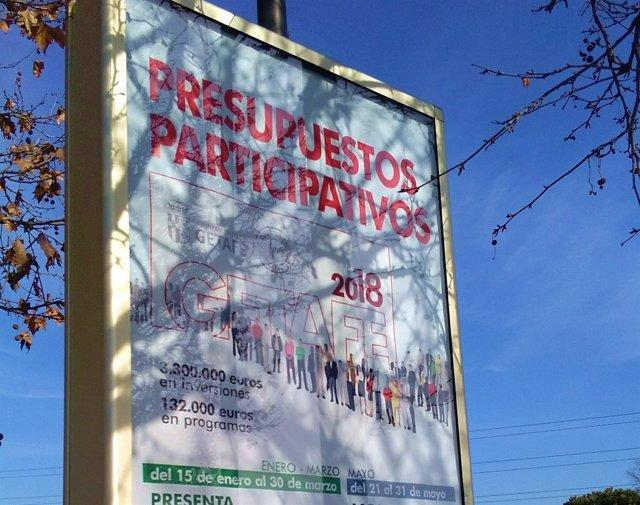 Presupuestos participativos de Getafe