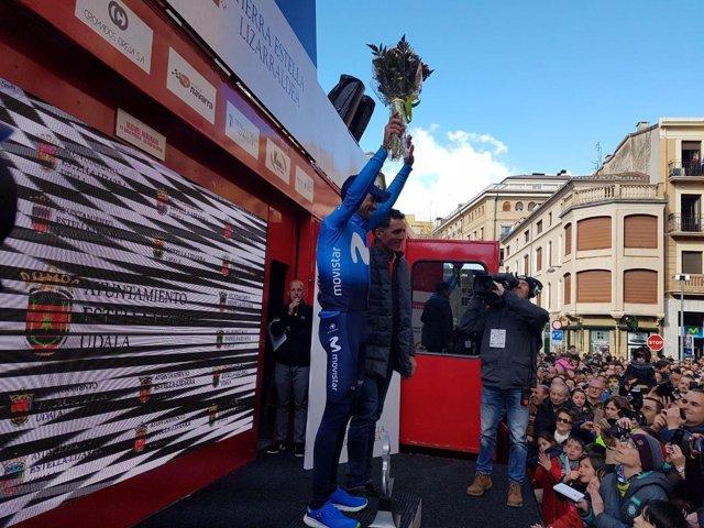 Alejandro Valverde Movistar Team Gran Premio Miguel Indurain