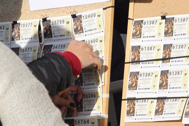 Lotería de Navidad, loterías, décimo, décimos, Doña Manolita