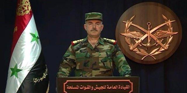Comunicado del Ejército sirio