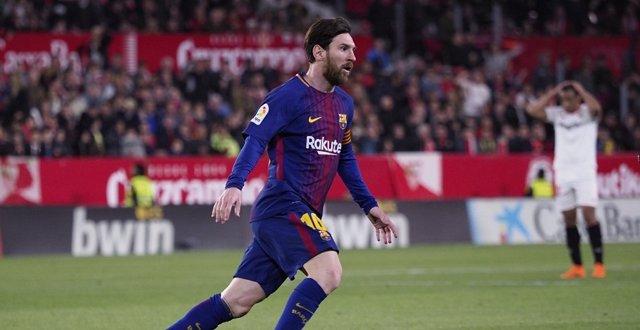 Messi con el FC Barcelona