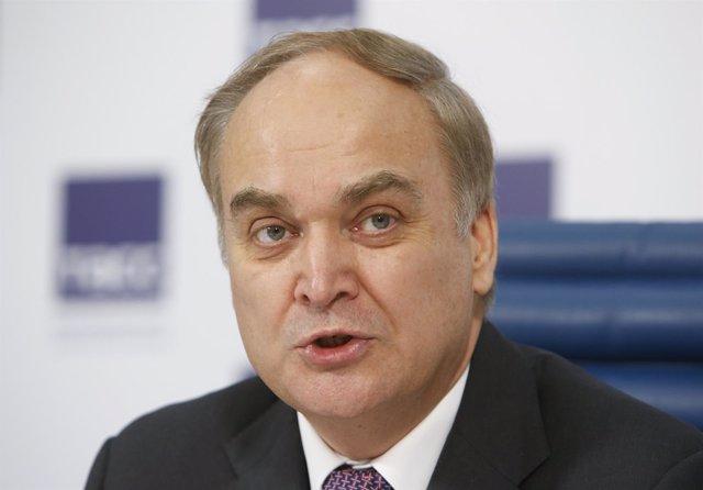 Anatoly Antonov, embajador de Rusia en Estados Unidos