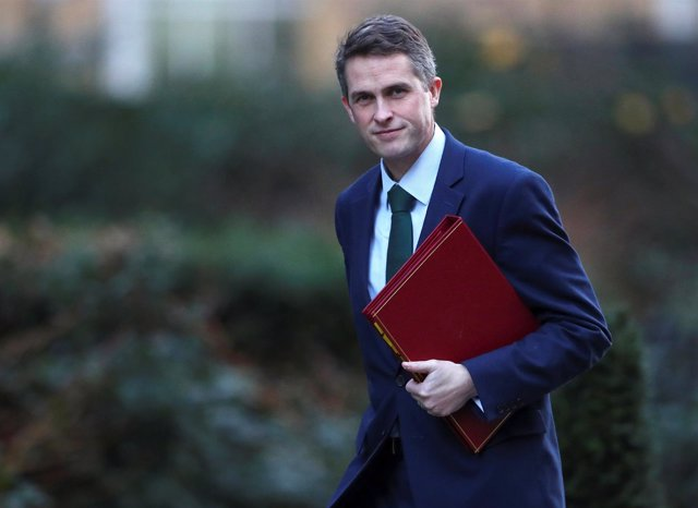 El ministro de Defensa británico, Gavin Williamson