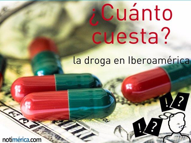 ¿Cuanto Cuesta La Droga En Iberoamérica?