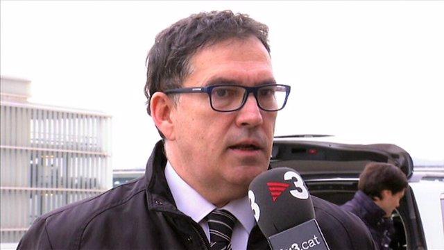 Jaume Alonso Cuevillas, abogado de Carles Puigdemont/ARCHIVO