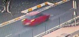 Coche que atropelló mortalmente a un niño de 10 años en Adeje, Tenerife
