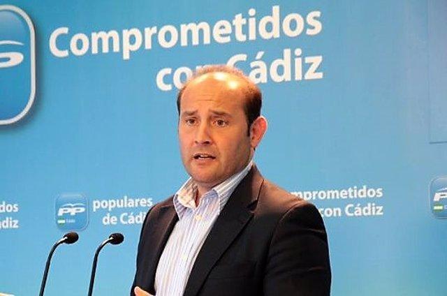 Juan José Ortiz, candidato del PP a la Alcaldía en Cádiz