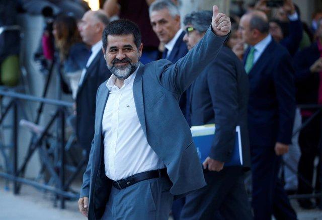Jordi Sanchez llega a la Audiencia Nacional para declarar por el procés/ARCHIVO