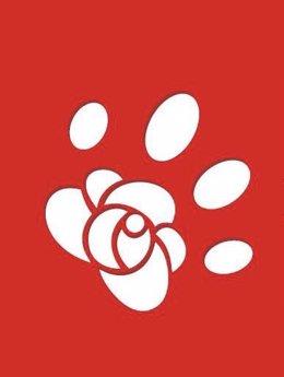 Logotipo del grupo de defensa animal del PSC