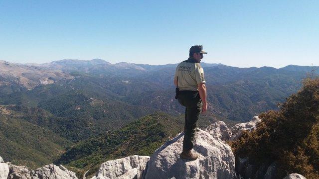 Agente de medio ambiente en Andalucía