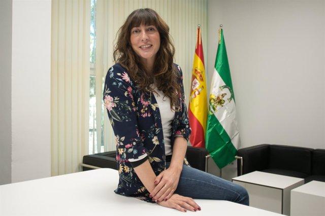 Loles López, durante la entrevista con Europa Press