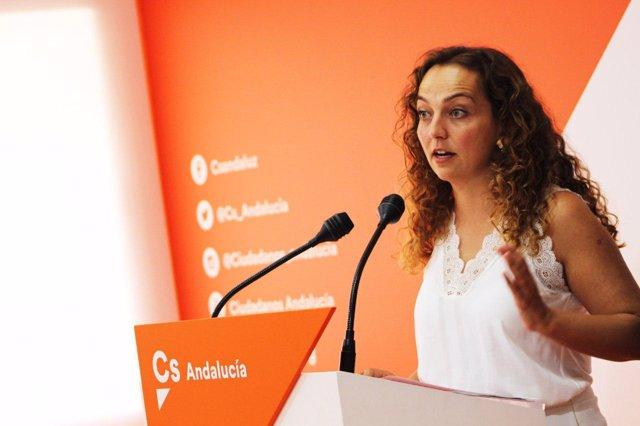 La diputada autonómica de Cs Marta Escrivá