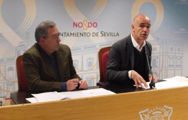 El portavoz del equipo de gobierno del Ayuntamiento de Sevilla, Antonio Muñoz