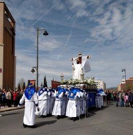 Procesión 'Cristo Resucitado' de Logroño