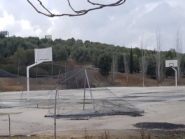 Complejo deportivo en el polígono Nuevo Jaén