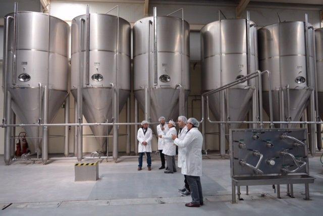 Visita de la Junta a instalaciones de Aceites Maeva