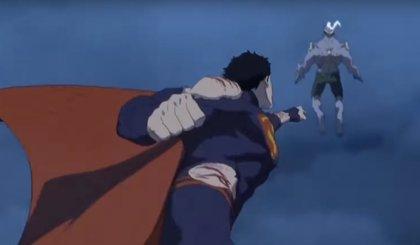 Primer adelanto de La muerte de Superman, la nueva película de animación de DC