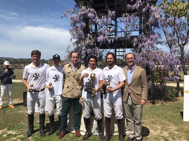 Ganador del Memorial José Ignacio Domecq en el Santa María Polo Club