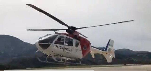 Helicóptero de la Ertzaintza