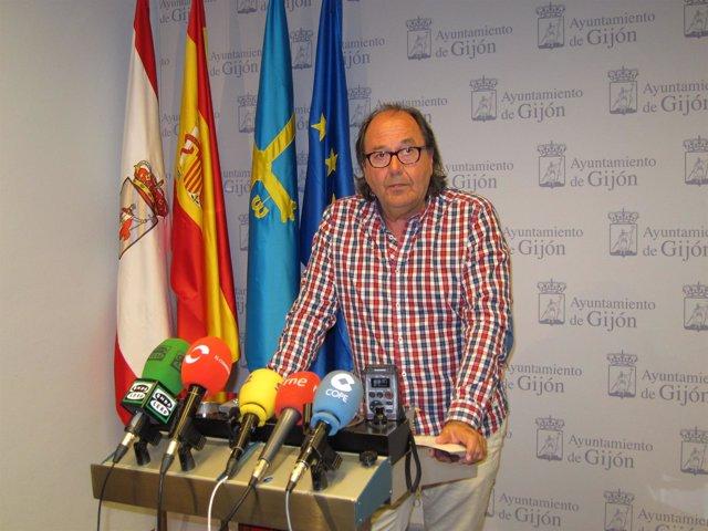 Imagen de archivo del portavoz de XsP, Mario Suárez del Fueyo