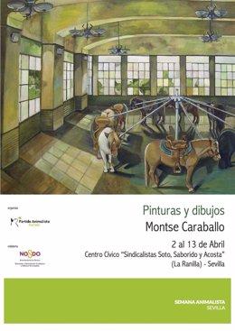 Exposición 'Pinturas y dibujos' de Monste Caraballo