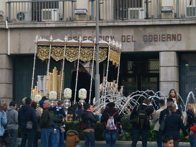 Paso de la Hermandad de Las Penas de Ceuta