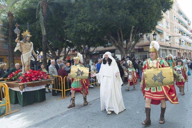 (Avan Fotos) /// 4.000 Cofrades De Todas Las Hermandades De La Semana Santa Mari