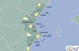Cielos cubiertos en la mayoría de la región