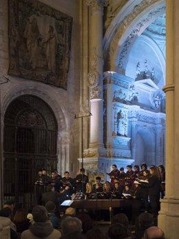 Concierto de la SMR en la Catedral de Cuenca