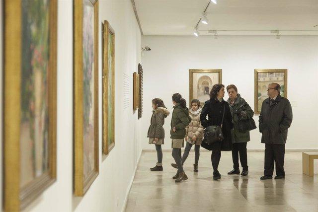 Exposición dedicada a Sorolla en el Patio Herreriano.