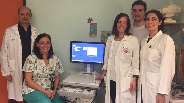 Nuevo retinógrafo pediátrico del Servet.