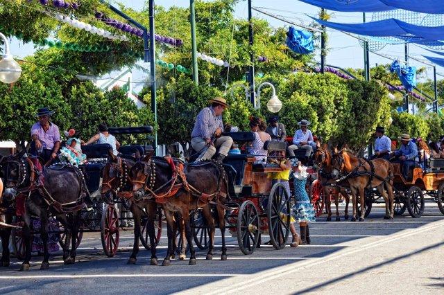 Feria de Málaga, caballos, Real Cortijo Torres