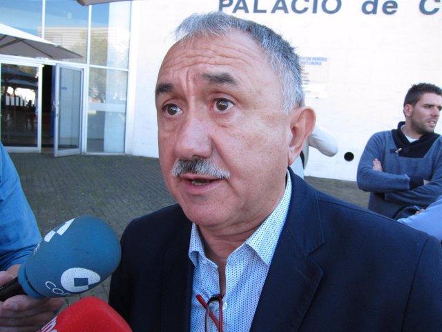 El Secretario General De Ugt, Pepe Álvarez,